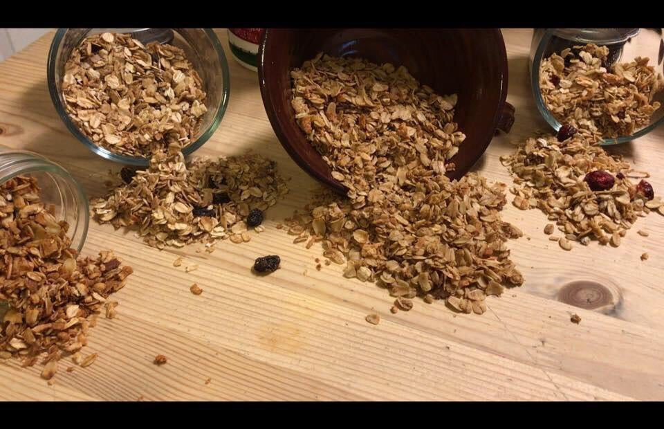 Cran-Orange Walnut Granola 1-Pound