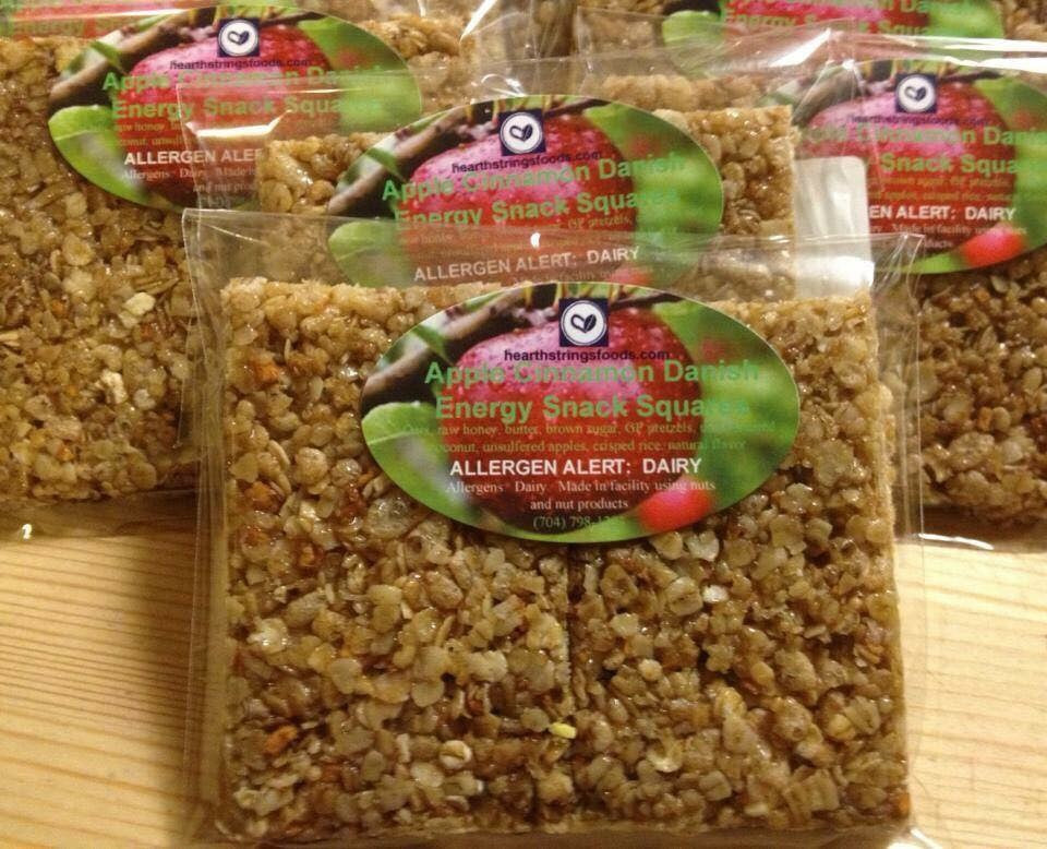 Apple Cinnamon Energy Snack Square 6-Pack