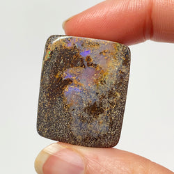 77 Ct small light purple boulder opal specimen