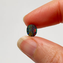 Australian Boulder Opal - 1.49 Ct  extra small colourful boulder opal - Broken River Mining