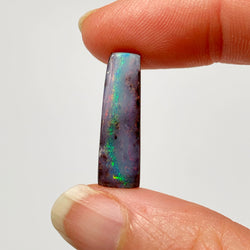 Australian Boulder Opal - 7.89 Ct small pink and green boulder opal - Broken River Mining