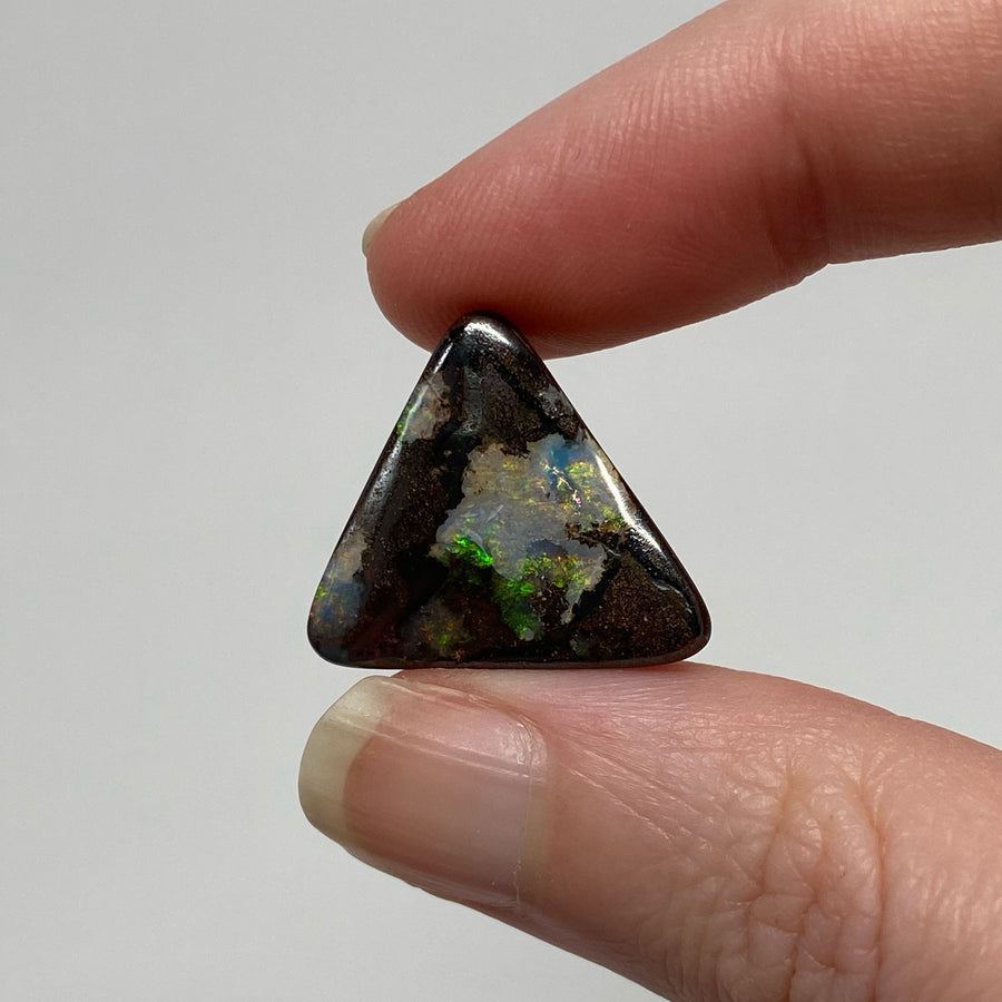 13.10 Ct triangle boulder opal