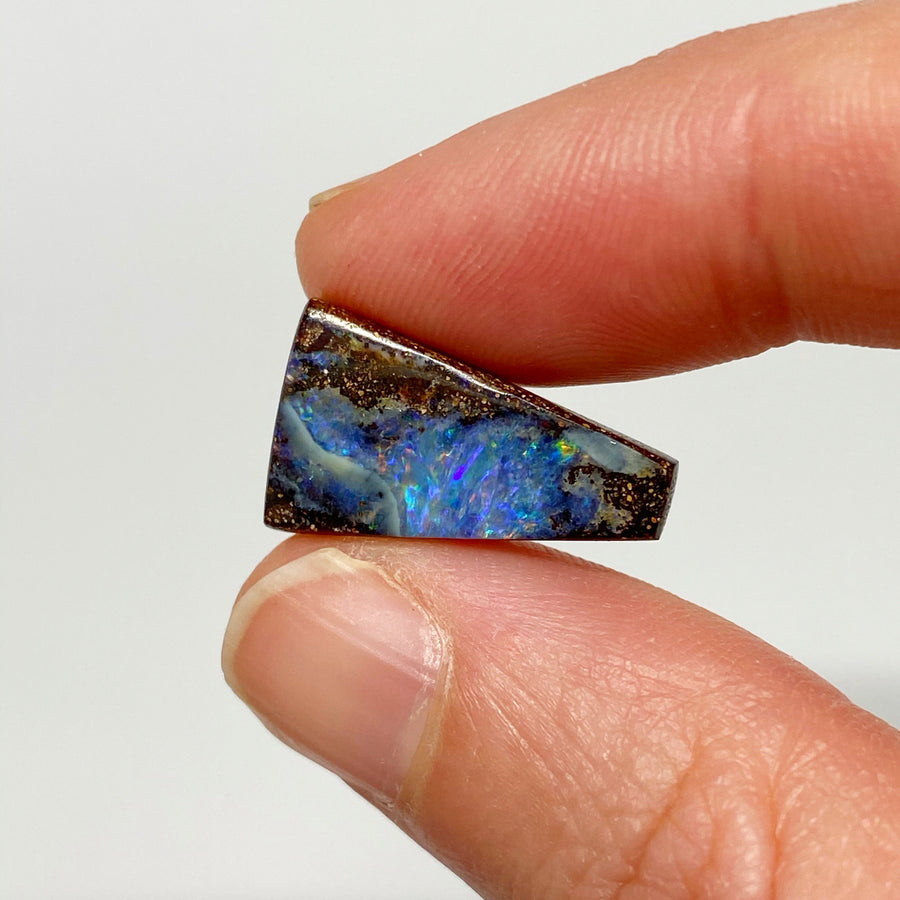 Australian Boulder Opal - 8.63 Ct small pink and purple boulder opal - Broken River Mining