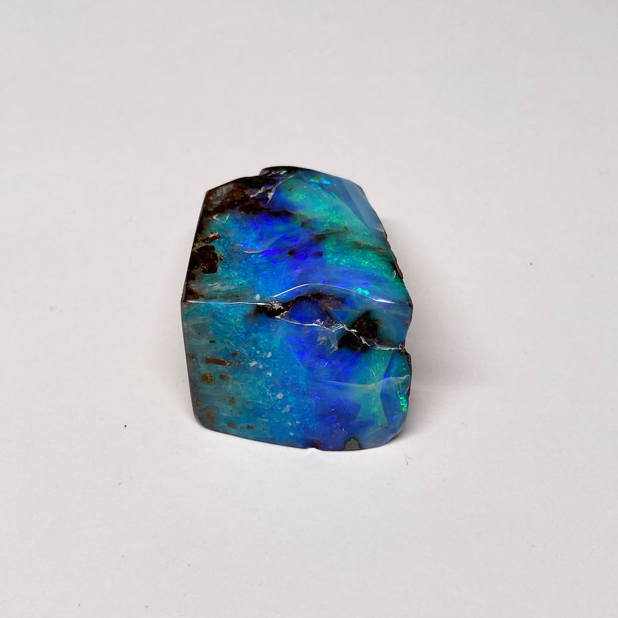 92 Ct small green-blue boulder opal specimen