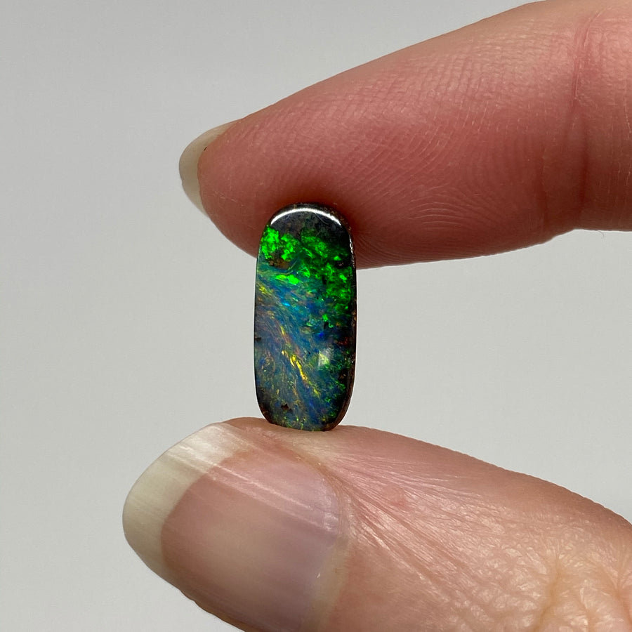 2.43 Ct small oval boulder opal
