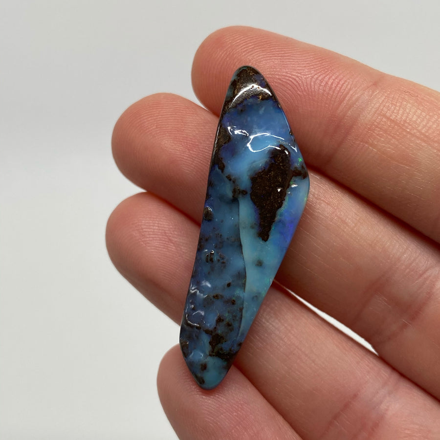 25.25 Ct drilled boulder opal
