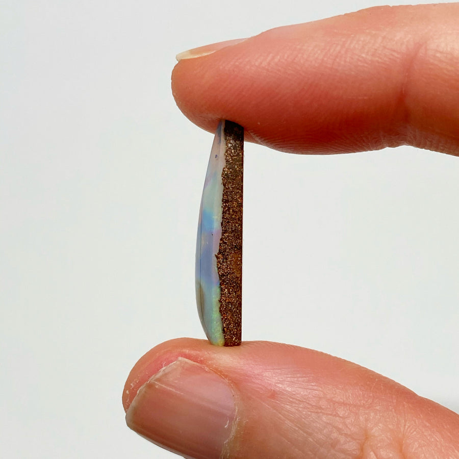 6.71 Ct triangle boulder opal