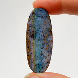Australian Boulder Opal - 48.35 Ct beautiful pastel patterned boulder opal - Broken River Mining