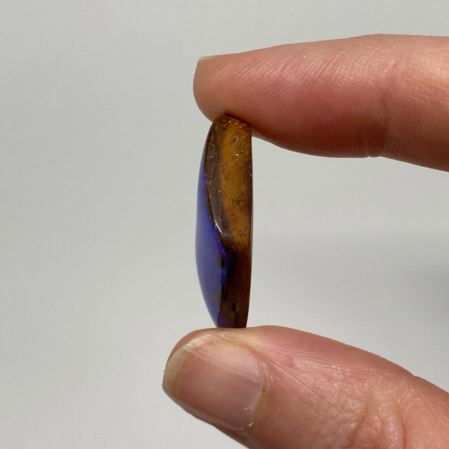 20.13 Ct purple boulder opal