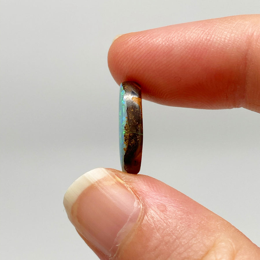 5.27 Ct small oval boulder opal