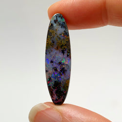 Australian Boulder Opal - 15.45 Ct multi-coloured maxtrix boulder opal - Broken River Mining