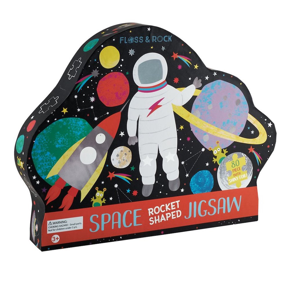 80 PC SHAPED JIGSAW - ROCKET