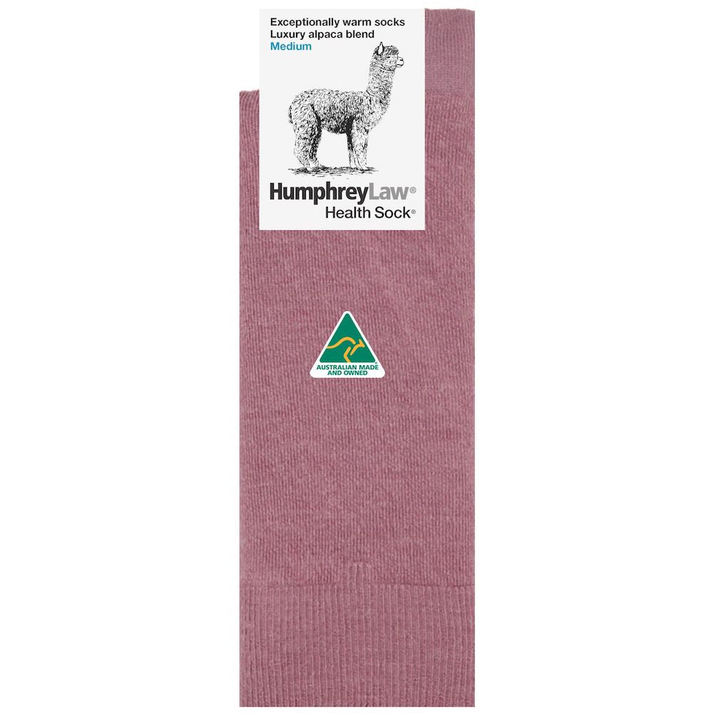 BABY ALPACA BLEND HEALTH SOCK - ASSORTED COLOURS
