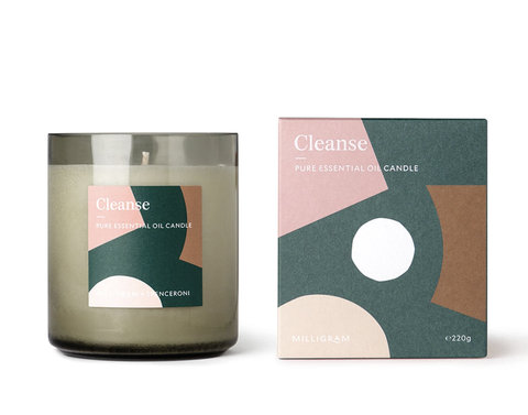 ESSENTIAL OIL COLLECTION CANDLE - CLEANSE