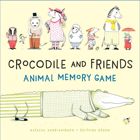CROCODILE AND FRIENDS ANIMAL MEMORY GAME