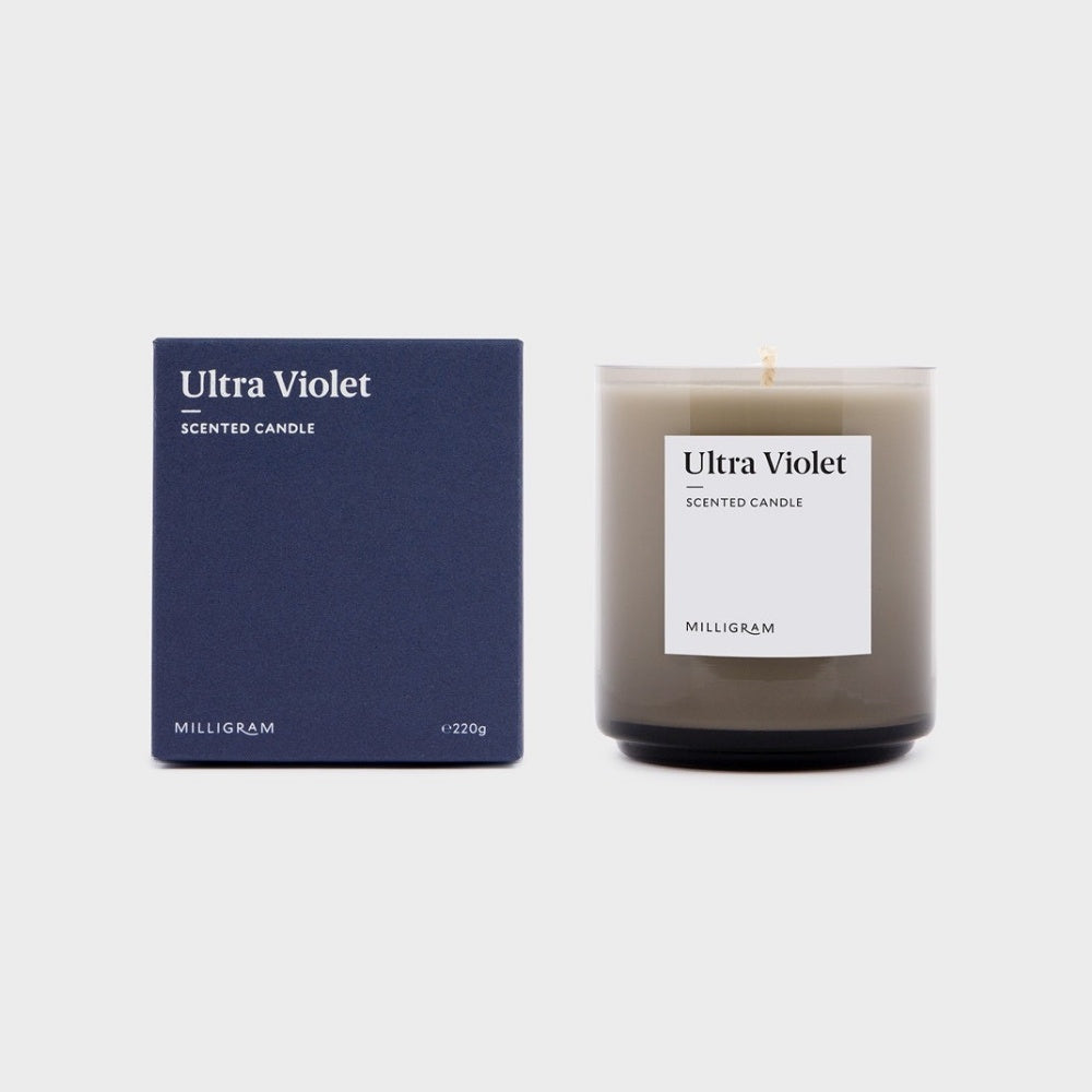 SCENT COLLECTION     CANDLE ULTRAVIOLET