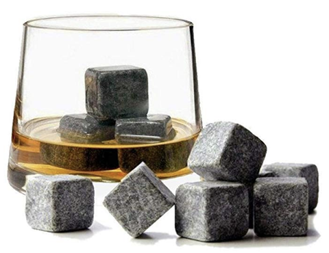 WHISKEY STONES 9 SET