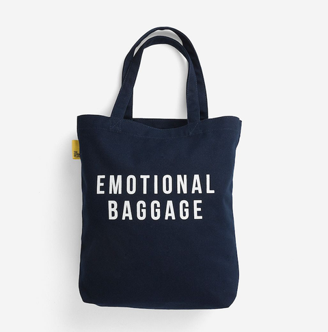 EMOTIONAL BAGGAGE - TOTE - NAVY