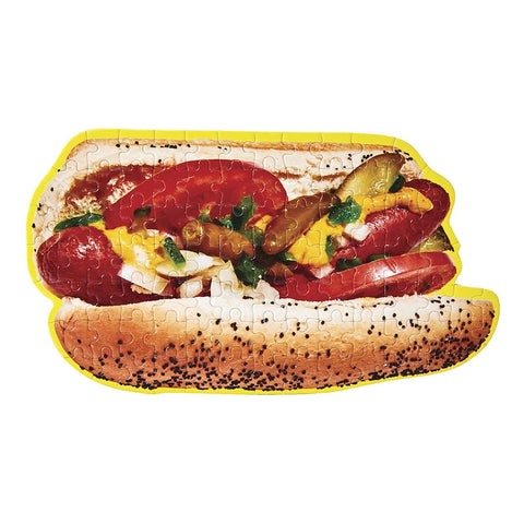 LITTLE PUZZLE THING FOOD - HOT DOG