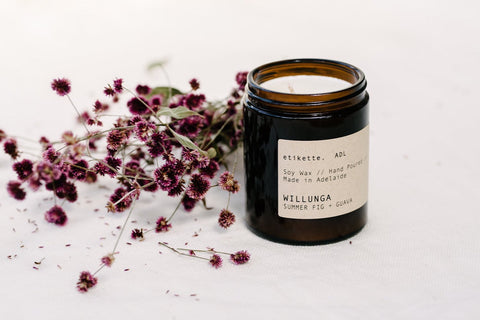 WILLUNGA - SUMMER FIG + GUAVA -  SINGLE WICK