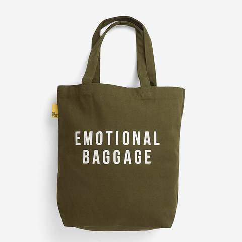 EMOTIONAL BAGGAGE - TOTE - KHAKI
