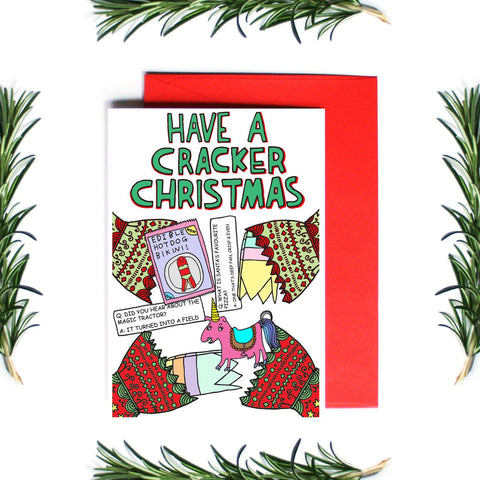 HAVE A CRACKER CHRISTMAS