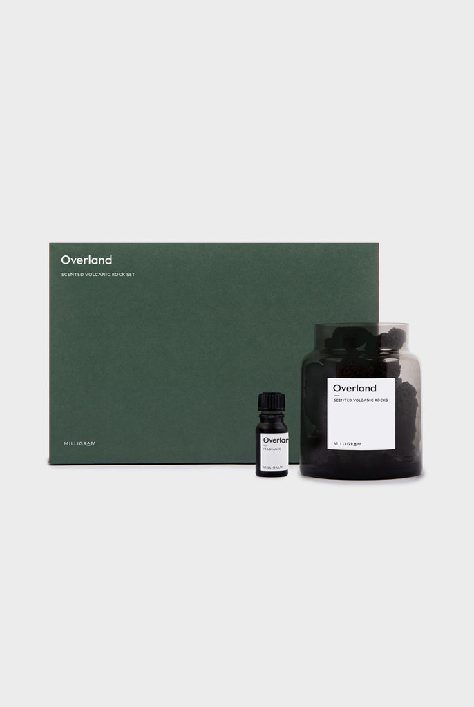 SCENTED VOLCANIC ROCK SET - OVERLAND