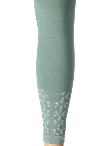 TIGHTS FOOTLESS FLORA -  ASSORTED COLOURS