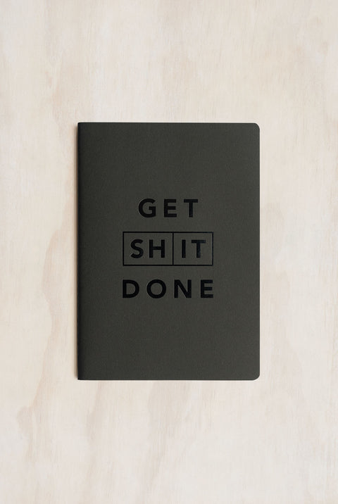 GET SHIT DONE NOTEBOOK-A5-SOFT COVER-CLASSIC