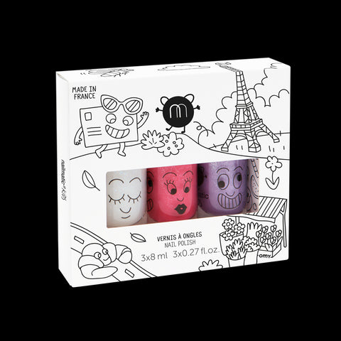 KIDS NAIL POLISH GIFT BOX (3PCS)