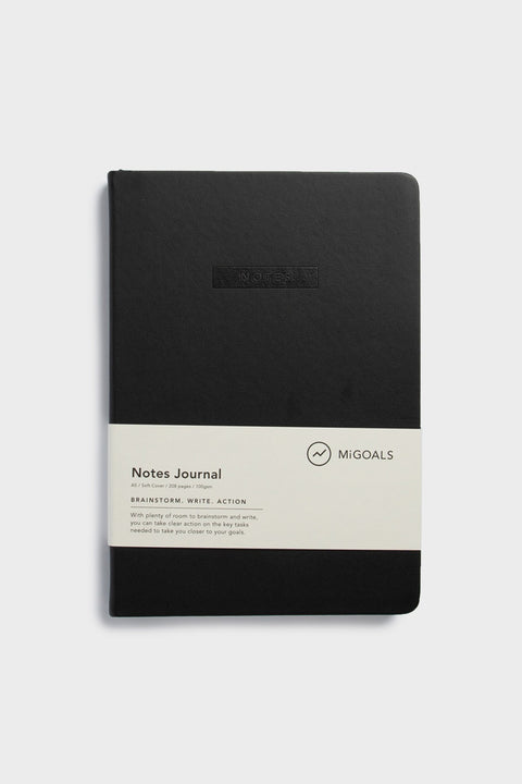 NOTES JOURNAL-A5-SOFT COVER-BLACK