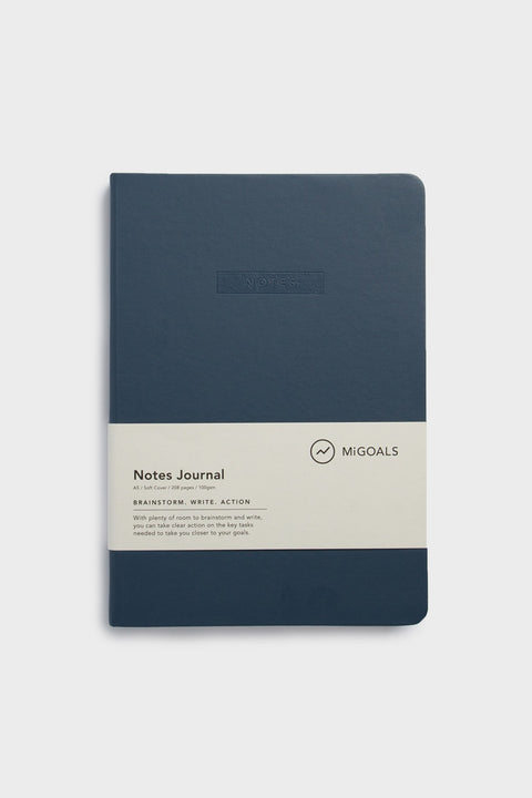 NOTES JOURNAL-A5-SOFT COVER-NAVY