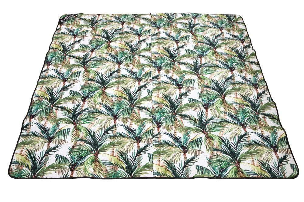PICNIC MAT - GREEN PALM