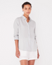 XANDER LINEN LONG SLEEVE SHIRT
