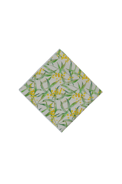 WATTLE POCKET SQUARE