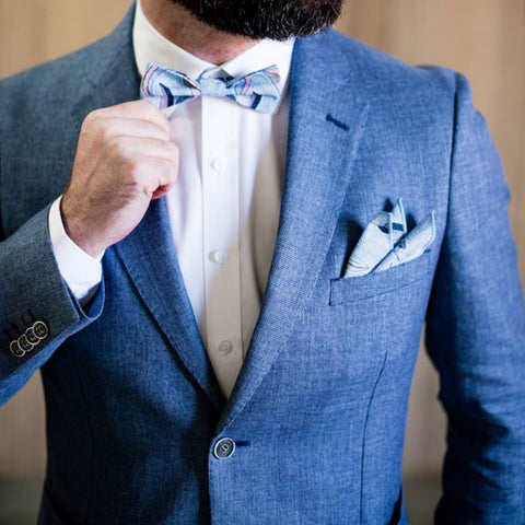 EUCALYPTUS POCKET SQUARE