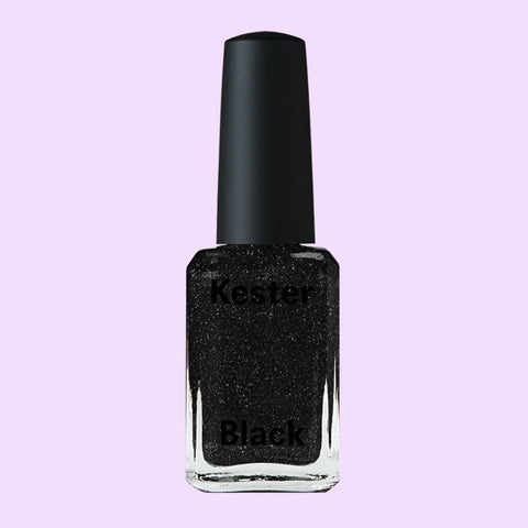 BLACK DIAMONDS HOLOGRAPHIC NAIL POLISH
