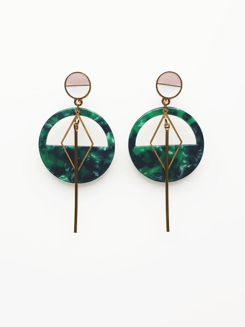 MAST EARRINGS - ASSORTED COLOURS