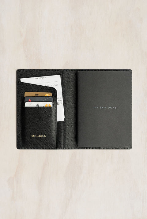 GET SHIT DONE TRAVEL WALLET