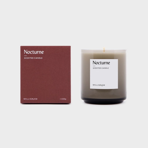 SCENT COLLECTION     CANDLE NOCTURNE