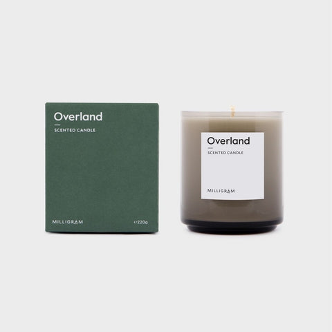 SCENT COLLECTION    CANDLE OVERLAND