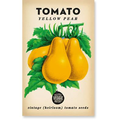 TOMATO 'YELLOW PEAR' HEIRLOOM SEEDS