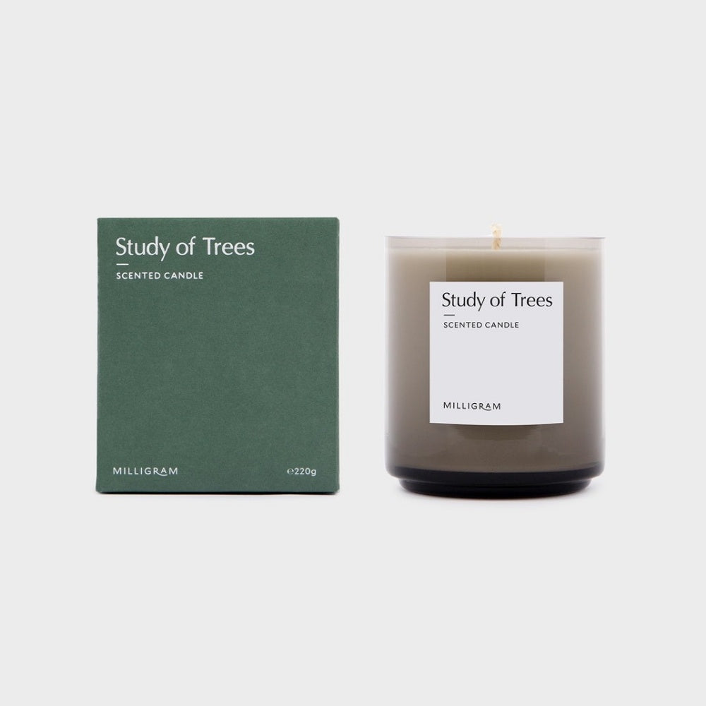SCENT COLLECTION  CANDLE      STUDY OF TREES