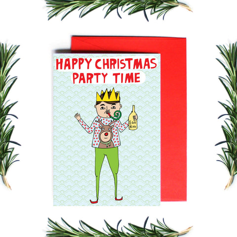 HAPPY CHRISTMAS PARTY TIME
