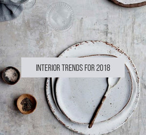 Your Short Guide to 2018 Interior Trends