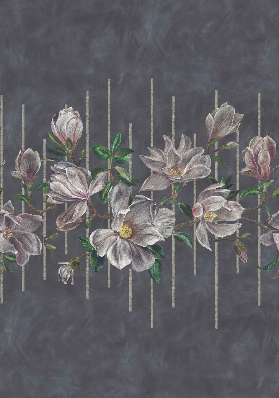 Magnolia Frieze