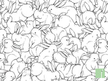 100-Rabbits-wallpaper