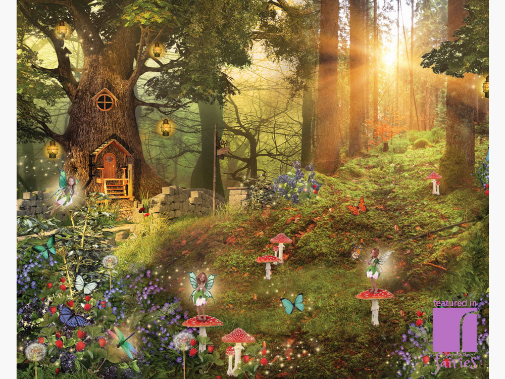 Fairy Wall Mural Fairy Wallpaper Away With The Fairies