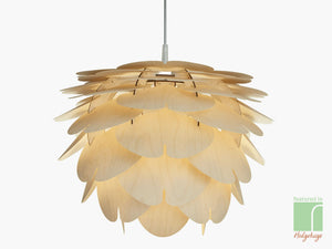 Aiko Wooden Lamp Shade