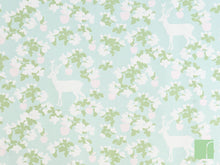 Turquoise Apple Garden Wallpaper Majvillan